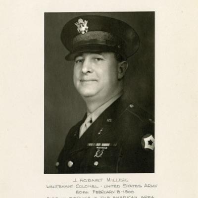 Miller, J. Hobart, LTC
