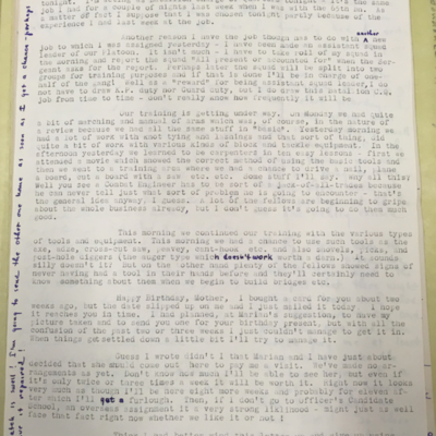 Lewis Letter 12