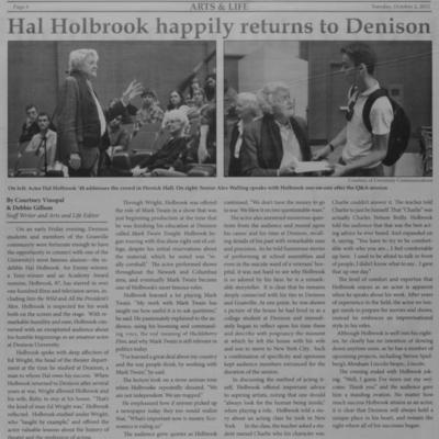 Hal Holbrook Returns
