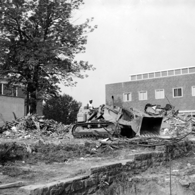 Chem Cottage Demolition