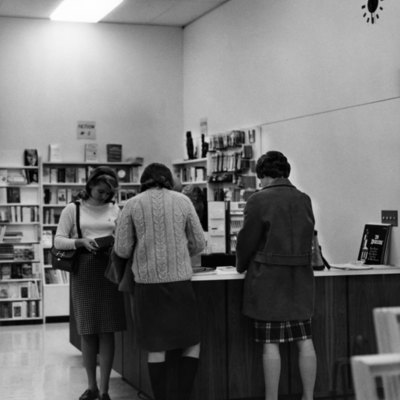 Slayter Bookstore Check-Out