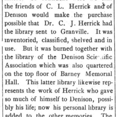 Herrick Library Burns article