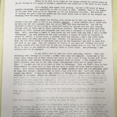 Airfield Letter 1