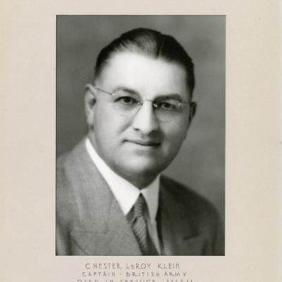 Klein, Chester LeRoy, CAPT
