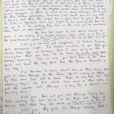 Airfield Letter 9