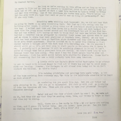 Airfield Letter 10