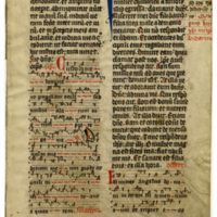 E0022 Leaf from a Missal (Missale Herbipolense)