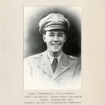 Saunders, John Coggeshall, 1ST LT