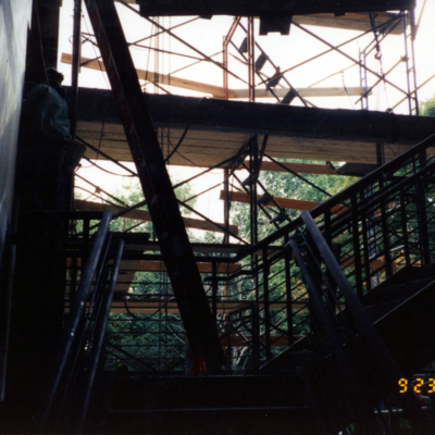 Olin Stairs - Construction
