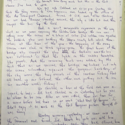 Airfield Letter 4