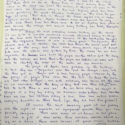 Island Hopping Letter 6