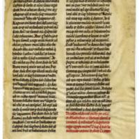E0044 Leaf from a Bible (Biblia Sacra Latina, Versio Vulgata)