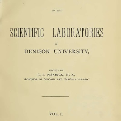 First Denison Lab Bulletin