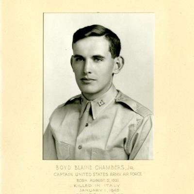 Chambers, Boyd Blaine, Jr., CAPT