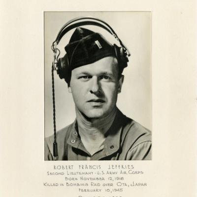 Jeffries, Robert Francis, 2D LT