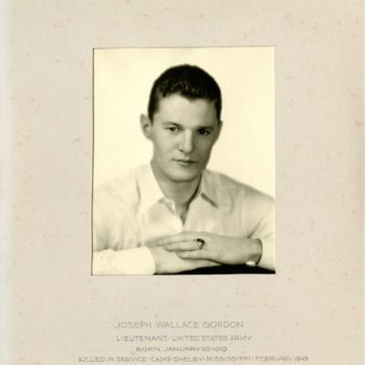 Gordon, Joseph Wallace, LT