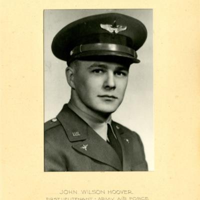 Hoover, John Wilson, 1ST LT