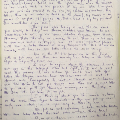 Airfield Letter 12