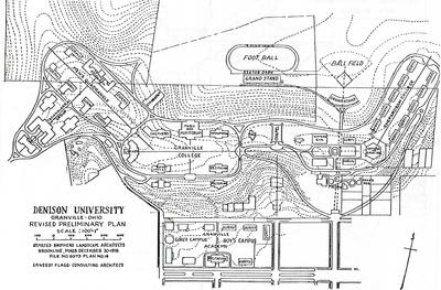 1916 Campus Map